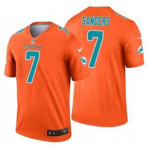 Men's Jason Sanders Miami Dolphins football Jersey